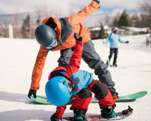 smugglers notch is very kid friendly so bring the whole family