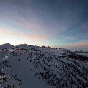 kicking horse is just one of the many mountains that offers extremely challenging trails at the resort