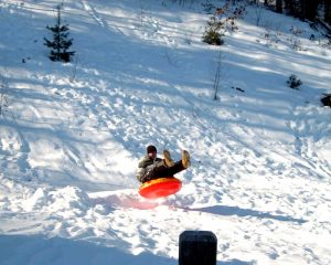 there's nothing quite like tubing down the mountain at a really fast speed at Jack Frost Big Boulder!