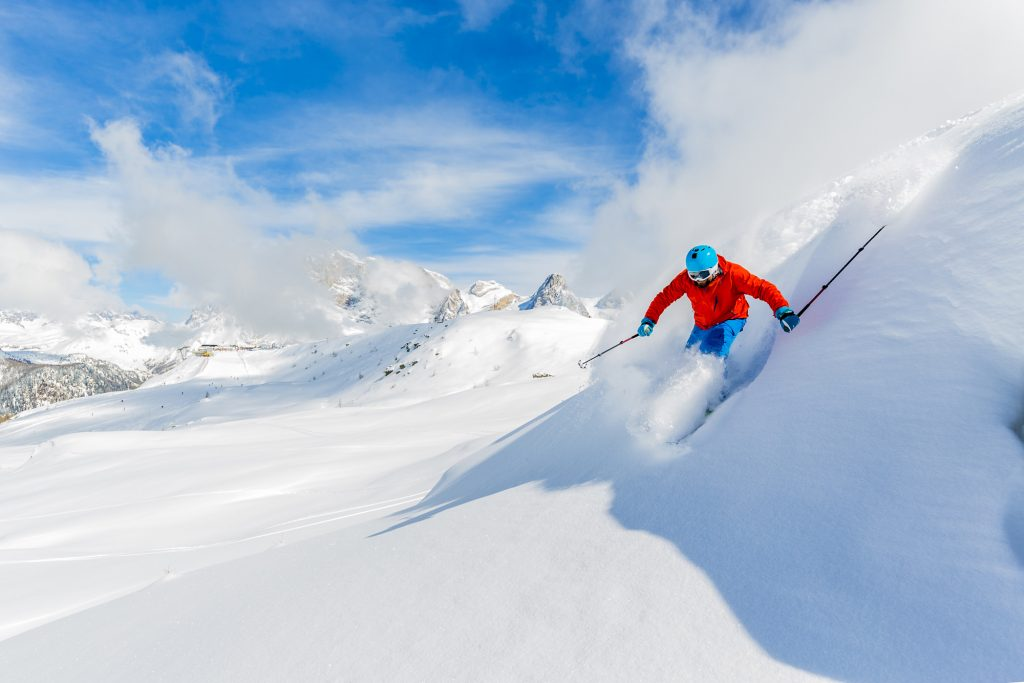 Plan your trip at least four weeks in advance to take advantage of early-bird pricing on everything from airline tickets to lift tickets and gear rentals.