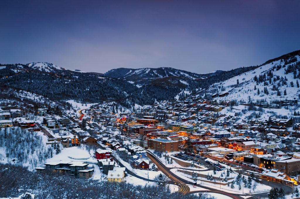 Enjoy the nightlife along Main Street in Park City, Utah, after a thrilling day on the slopes. There's plenty of bars, pubs and restaurants, along with some great lodging and shopping choices.