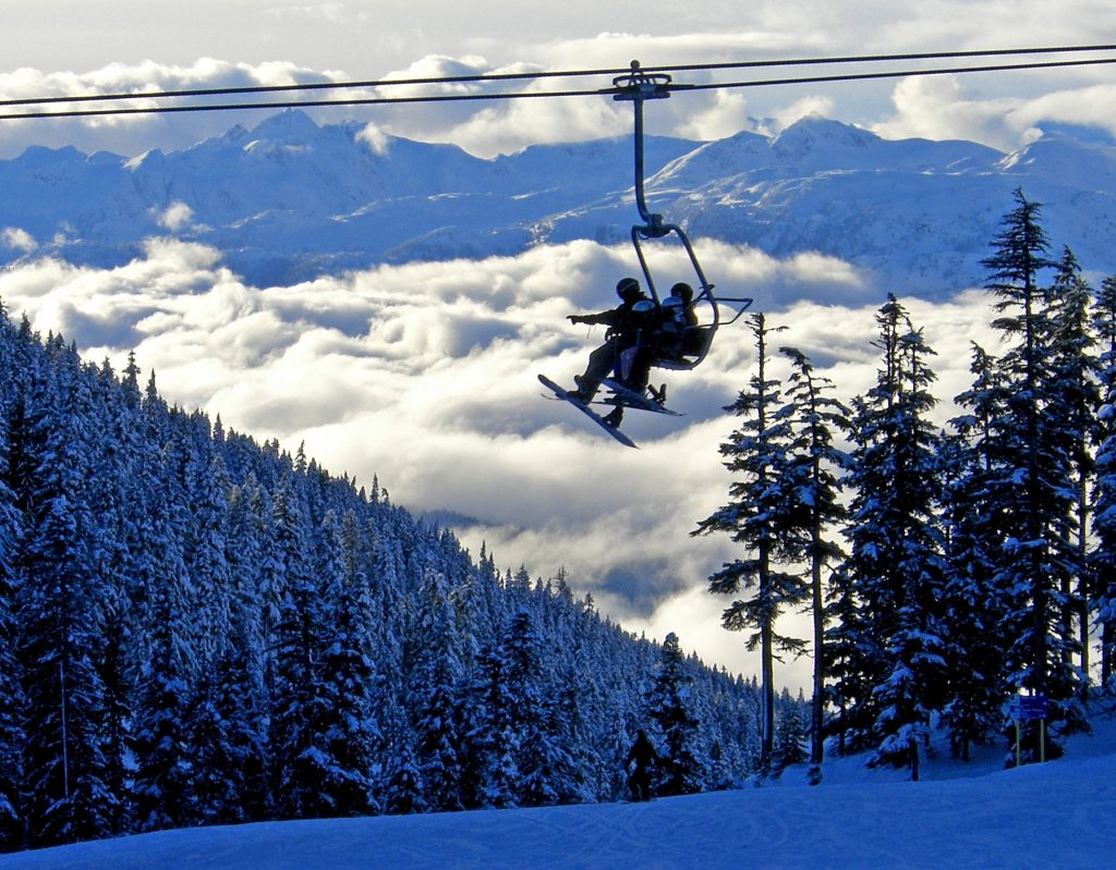 Catch a direct flight to one of these airports near a ski resort and you'll be on the lifts in no time.