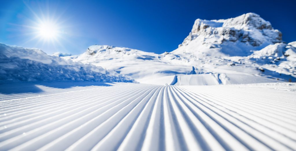 Perfectly groomed corduroy awaits at one of these epic ski resorts only a short drive from the airport.