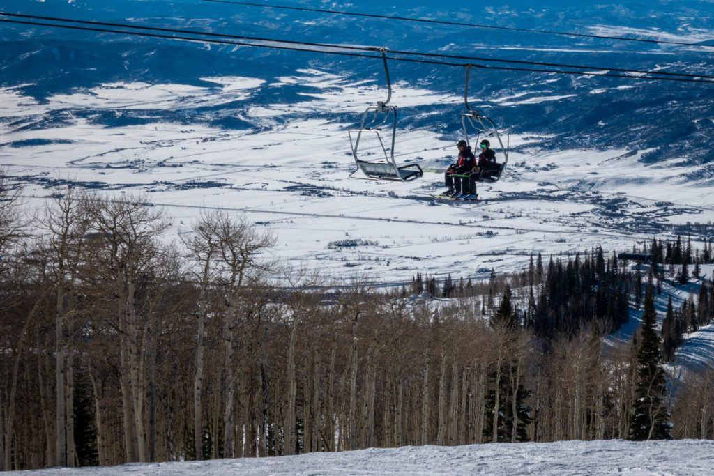 Steamboat has awesome skiing and a couple of great companies that offer free ski gear delivery right to your condo.