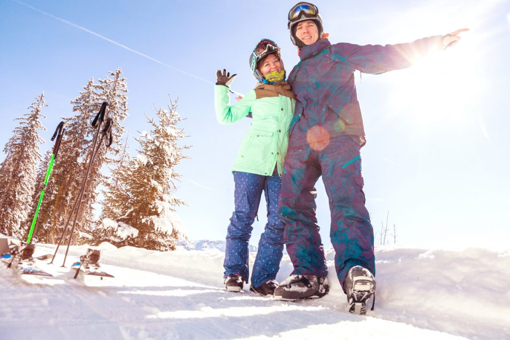 Cascade Mountain Resort is family friendly and has some easy runs for beginners. More determined skiers and snowboarders should try Devil's Head Resort because it's geared more toward advanced skiers.