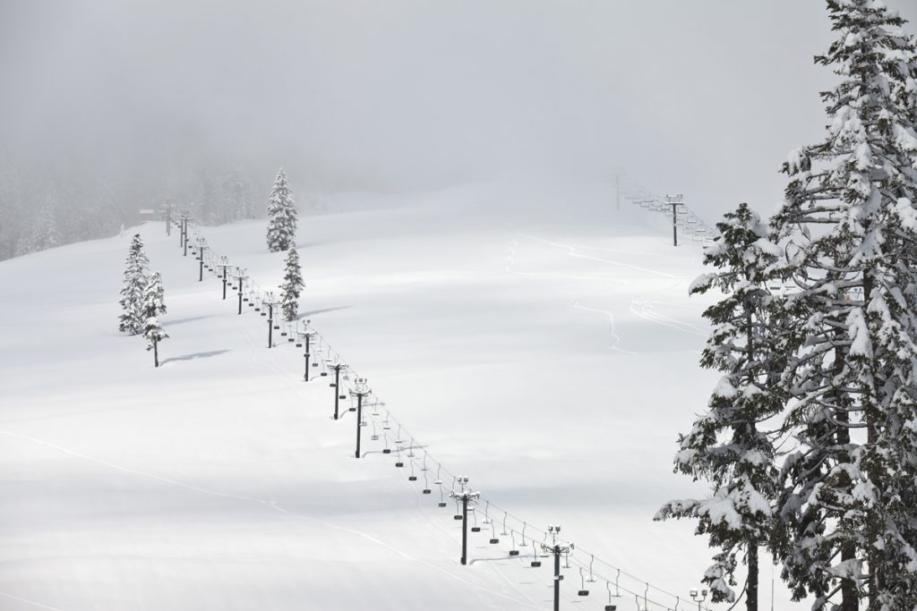 The Cascade Mountains outside of Seattle is home to some epic skiing - and snowfall - that you don't want to miss.